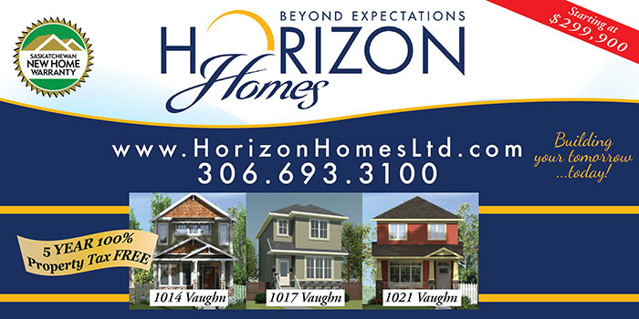 horizon homes ad moose jaw